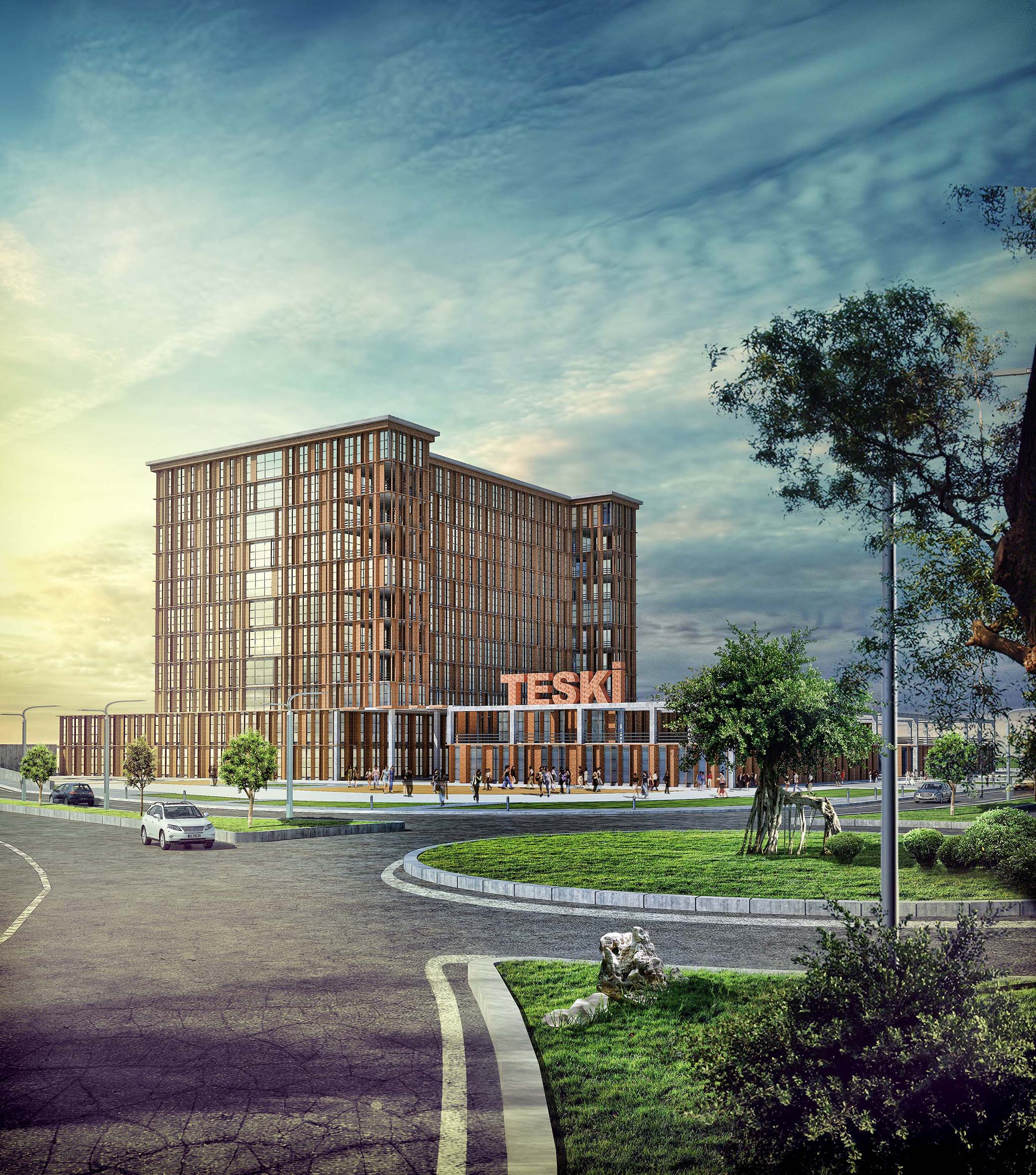 TESKİ Service Building