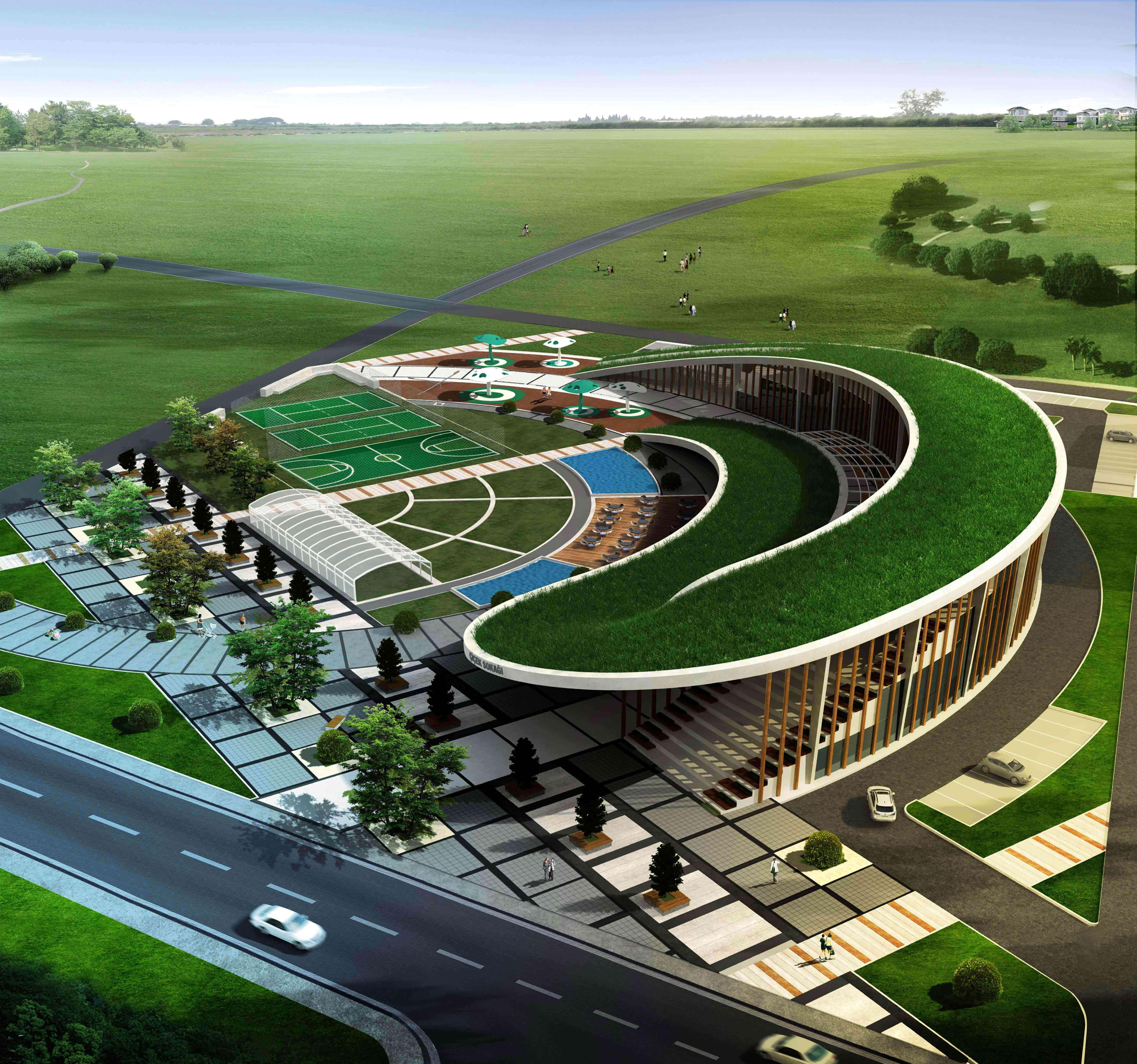 Lüleburgaz Municipality Women's Academy,Architecture, Interior Design, Landscape Architecture, Industrial Design
