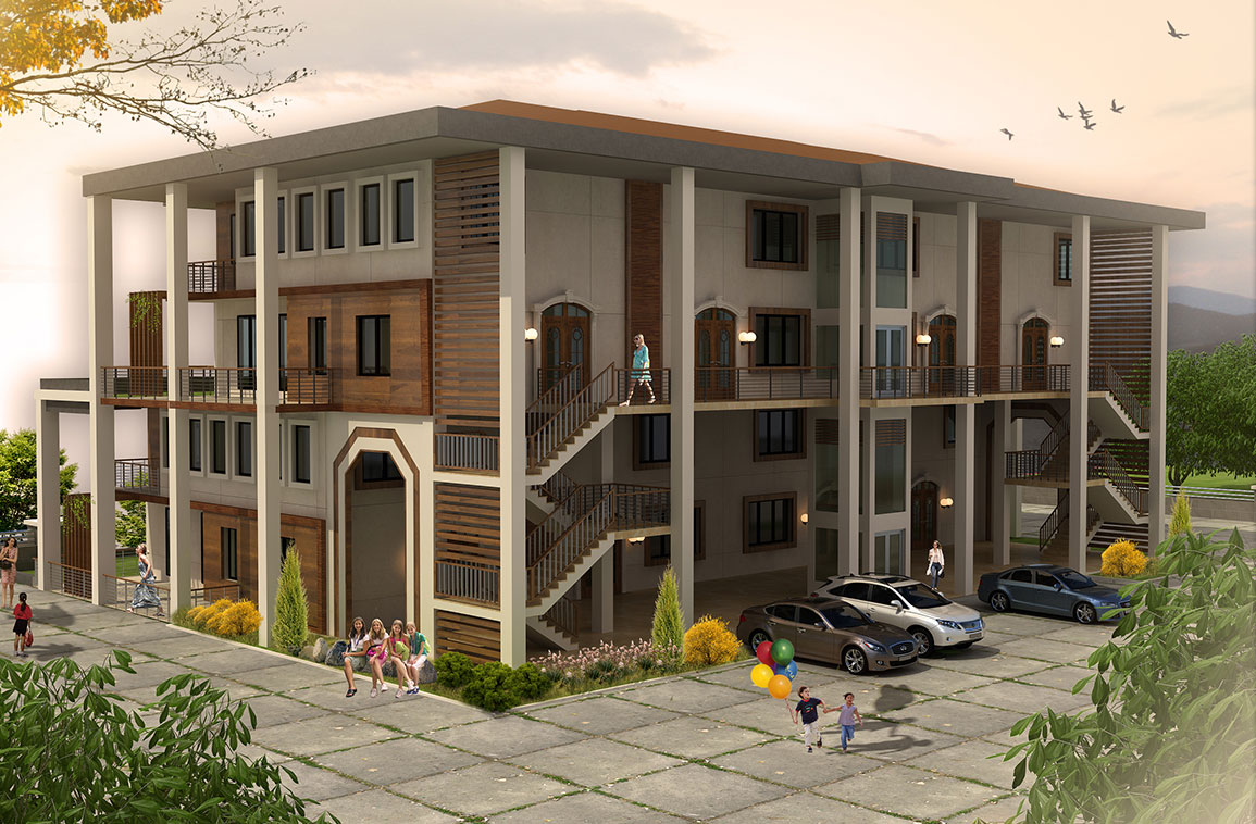 Teras Houses - Akyazi, Architecture, Interior Design, Landscape Architecture, Industrial Design