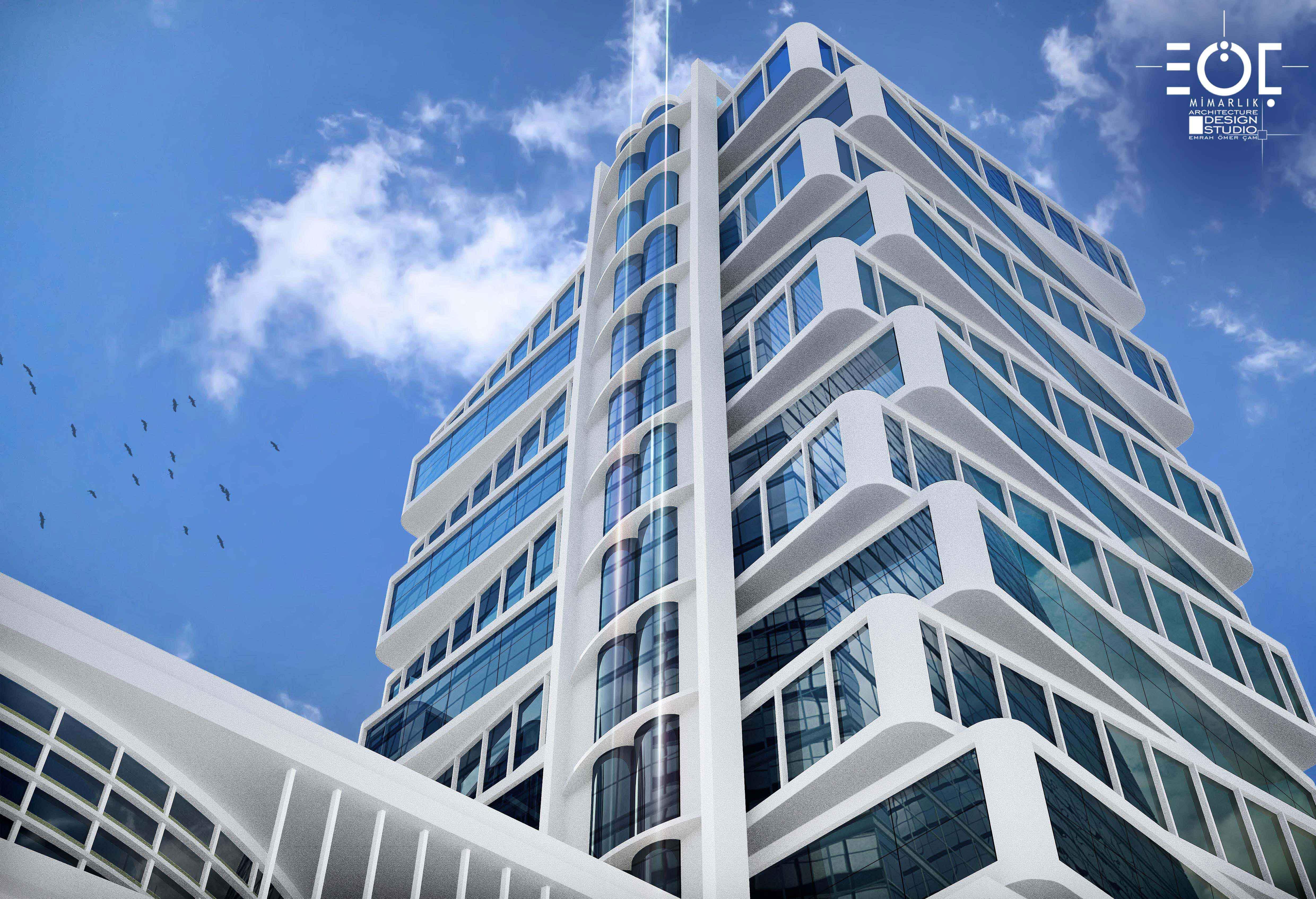 Anadolu Birlik Holding Service Building,